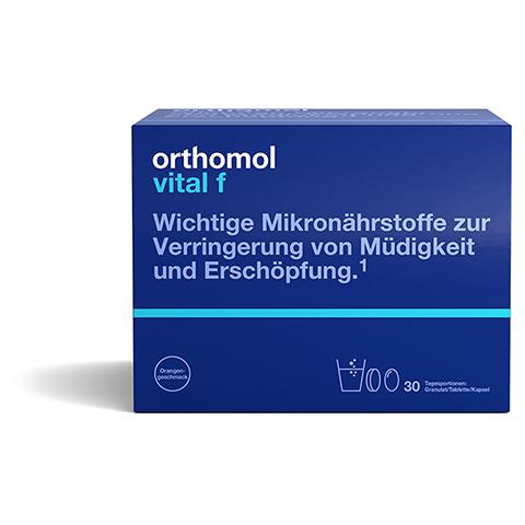 ORTHOMOL Vital F 30 Granulat/Kaps.Kombipackung 1 Stück