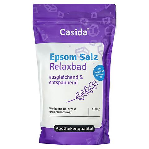 EPSOM Salz Relaxbad mit Lavendel 1 Kilogramm