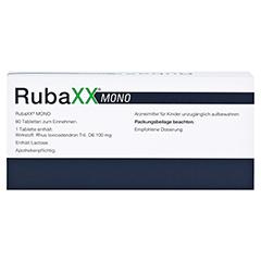 RUBAXX Mono Tabletten 80 Stück - Rückseite