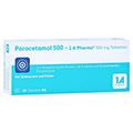 Paracetamol 500-1A Pharma 20 Stück N2