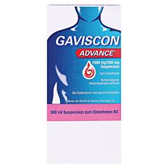 GAVISCON Advance Suspension 500 Milliliter N3 - Vorderseite