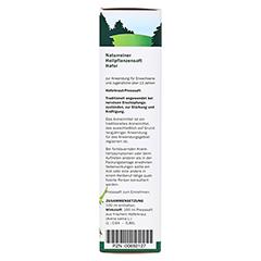 Hafer naturreiner Heilpflanzensaft Schoenenberger 200 Milliliter - Rechte Seite