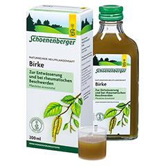 Birke naturreiner Heilpflanzensaft Schoenenberger 200 Milliliter