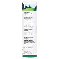 Hafer naturreiner Heilpflanzensaft Schoenenberger 200 Milliliter - Linke Seite
