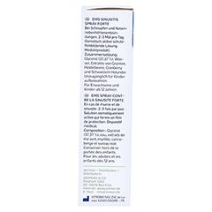 EMSER Sinusitis Spray forte 15 Milliliter - Rechte Seite