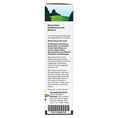 Melisse naturreiner Heilpflanzensaft Schoenenberger 200 Milliliter - Rechte Seite