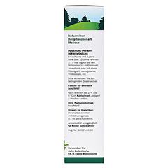 Melisse naturreiner Heilpflanzensaft Schoenenberger 200 Milliliter - Linke Seite