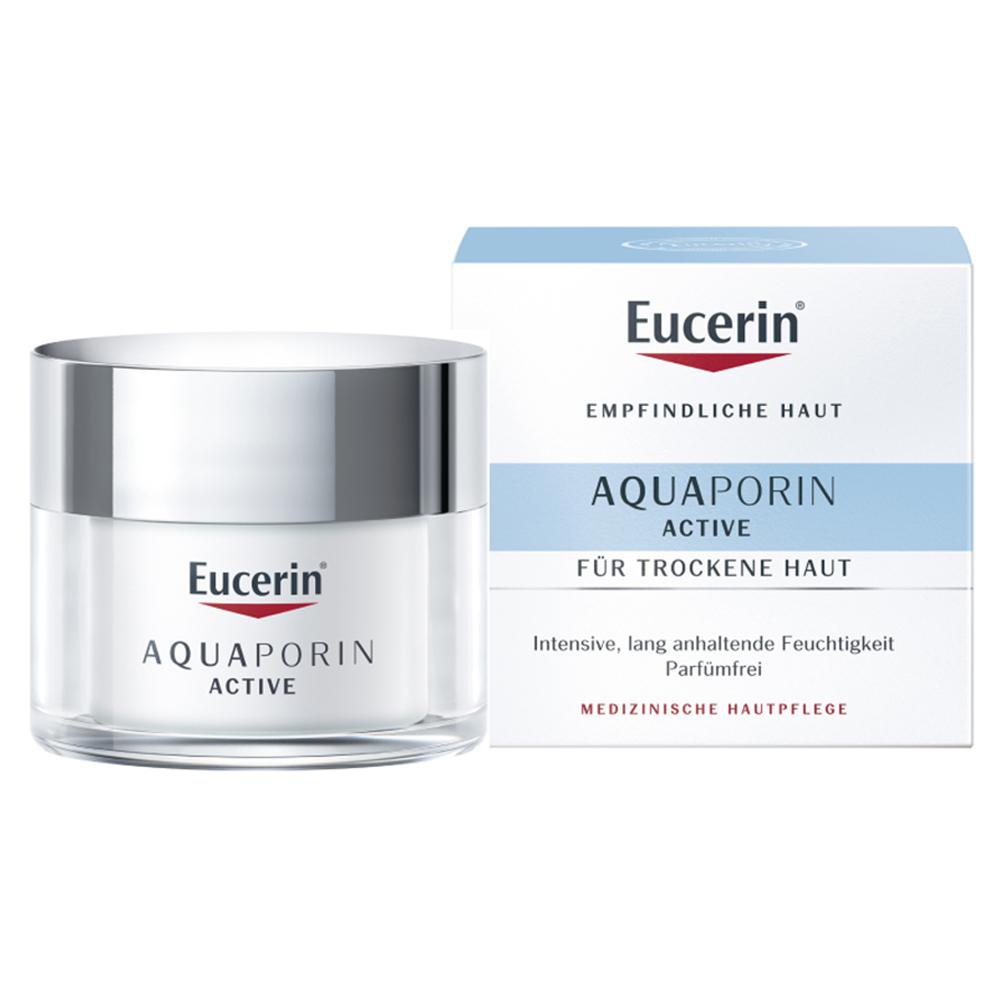 spitze eucerin aquaporin active creme trockene haut 50. Black Bedroom Furniture Sets. Home Design Ideas