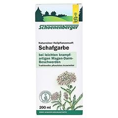 Schafgarbe naturreiner Heilpflanzensaft Schoenenberger 200 Milliliter - Vorderseite