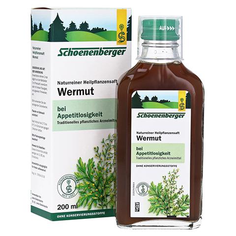 Wermut naturreiner Heilpflanzensaft Schoenenberger 200 Milliliter