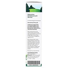 Wermut naturreiner Heilpflanzensaft Schoenenberger 200 Milliliter - Rechte Seite
