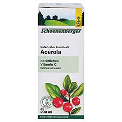 Schoenenberger Acerola Naturtrüber Fruchtsaft 3x200 Milliliter - Rechte Seite