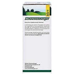 Zinnkraut naturreiner Heilpflanzensaft Schoenenberger 3x200 Milliliter - Linke Seite