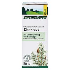 Zinnkraut naturreiner Heilpflanzensaft Schoenenberger 3x200 Milliliter - Rechte Seite