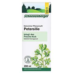 PETERSILIE Schoenenberger Heilpflanzensäfte 200 Milliliter - Vorderseite