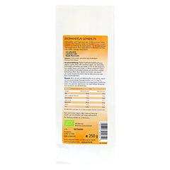ERDMANDELN gemahlen Bio Pulver 250 Gramm - Rückseite