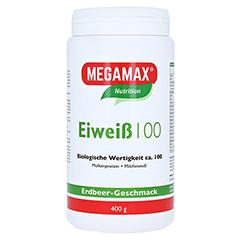EIWEISS 100 Erdbeer Megamax Pulver 400 Gramm