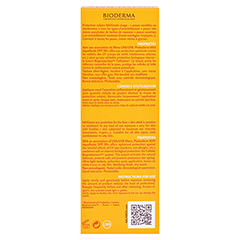 BIODERMA Photoderm Max Aquafluid SPF 50+ ungetönt 40 Milliliter - Rückseite