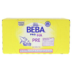 Nestle BEBA PRO HA Pre trinkfertig 8x200 Milliliter - Oberseite