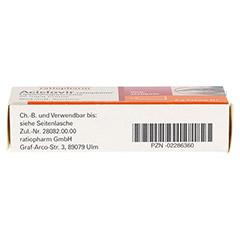 Aciclovir-ratiopharm Lippenherpescreme 2 Gramm N1 - Unterseite