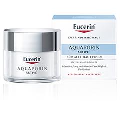 EUCERIN AQUAporin Active Creme LSF 25 50 Milliliter
