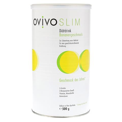 OVIVO SLIM Diätdrink Banane Pulver 500 Gramm