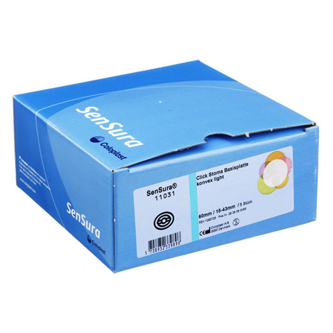 SENSURA Click Basisp.konvex light RR60 15-43mm 5 Stück