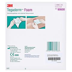 TEGADERM Foam Verband 5x5 cm 90600 10 Stück - Rückseite