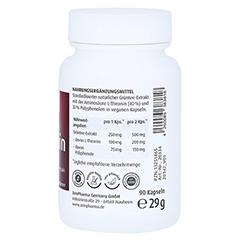 L-THEANIN Natural 250 mg Kapseln ZeinPharma 90 Stück - Rechte Seite