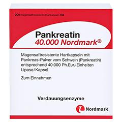 Pankreatin 40000 Nordmark 200 Stück N3 - Vorderseite