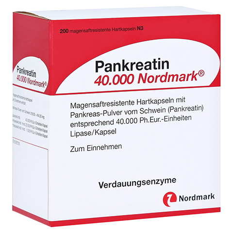 Pankreatin 40000 Nordmark 200 Stück N3