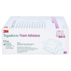 TEGADERM Foam Adhesive 8,8x8,8 cm 90610 10 Stück - Linke Seite