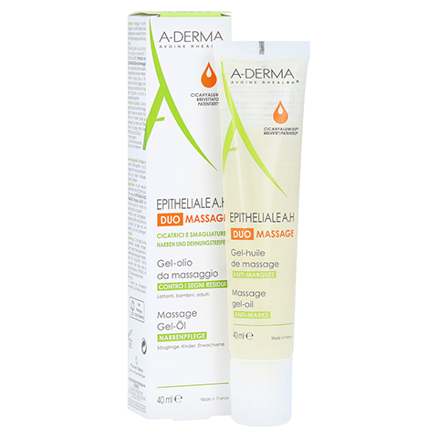 A-DERMA EPITHELIALE A.H DUO Massage Gel-Öl 40 Milliliter