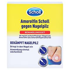 Amorolfin Scholl gegen Nagelpilz Behandlungsset 2.5 Milliliter N1 - Vorderseite