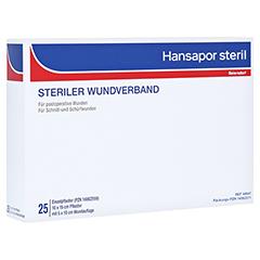 HANSAPOR steril Wundverband 10x15 cm 25 Stück