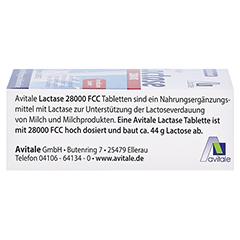 Lactase 28.000 FCC Tabletten im Spender 80 Stück - Rechte Seite