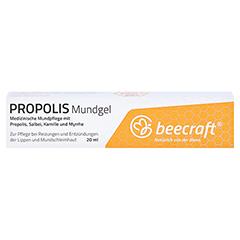 Beecraft Propolis Mundgel 20 Milliliter - Vorderseite