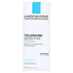 La Roche-Posay Toleriane Sensitive Creme + gratis La Roche Posay Mizellenwasser Sensitiv Skin 50 ml 40 Milliliter - Rückseite