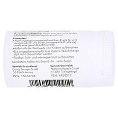 NICOPEL Nicotinamid 500 mg Kapseln 60 Stück - Linke Seite