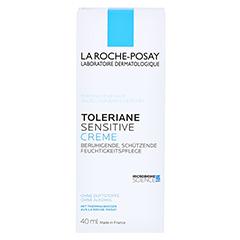 La Roche-Posay Toleriane Sensitive Creme + gratis La Roche Posay Mizellenwasser Sensitiv Skin 50 ml 40 Milliliter - Vorderseite