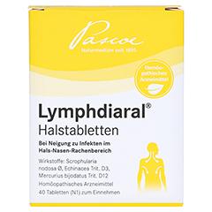 LYMPHDIARAL HALSTABLETTEN 40 Stück N1 - Vorderseite