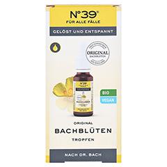 Bachblüten No. 39 Tropfen + gratis Bachblüten Kaugummi No. 39 20 Milliliter - Vorderseite