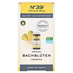 Bachblüten No. 39 Tropfen + gratis Bachblüten Kaugummi No. 39 10 Milliliter - Vorderseite