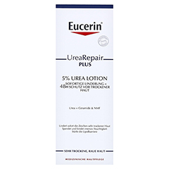 EUCERIN UreaRepair PLUS Lotion 5% 250 Milliliter - Vorderseite
