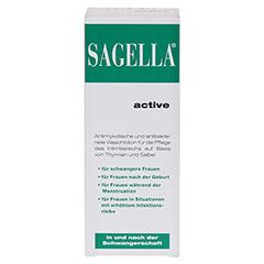 Sagella active 100 Milliliter - Vorderseite
