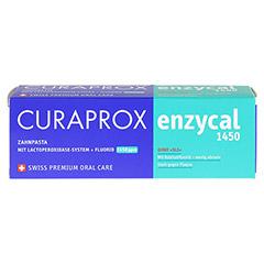 ENZYCAL Curaprox Zahnpasta 75 Milliliter - Vorderseite