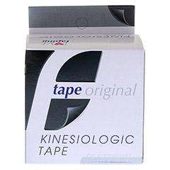 KINESIOLOGIC tape original 5 cmx5 m schwarz 1 Stück - Vorderseite