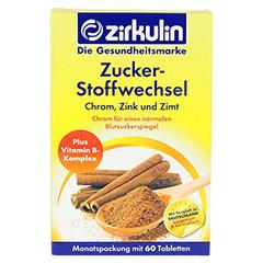 ZIRKULIN Zuckerstoffwechsel Zimt Plus Tabletten 60 Stück - Vorderseite