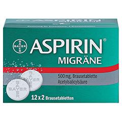 Aspirin Migräne 24 Stück - Vorderseite