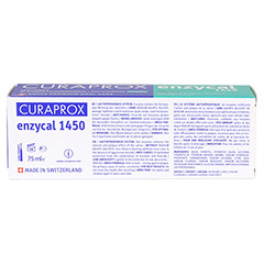 ENZYCAL Curaprox Zahnpasta 75 Milliliter - Rückseite